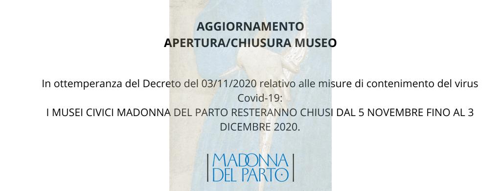 AGGIORNAMENTO APERTURA_ CHIUSURA MUSEO