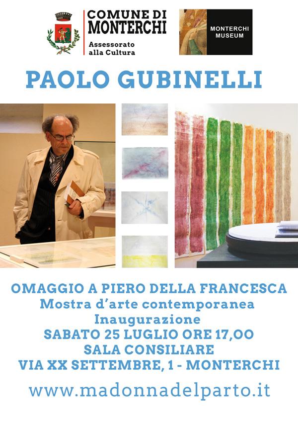PAOLO GUBINELLI - OMAGGIO A PIERO DELLA FRANCESCA